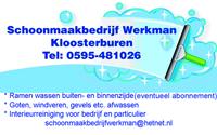 Ronde van Kloosterburen Dschoonmaakbedrijf werkman