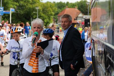 Ronde van Kloosterburen Speaker Marjo Nijmeijer